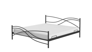 Cama de metal para dormitorio Doro