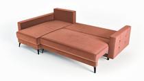sofá con contenedor para sábanas